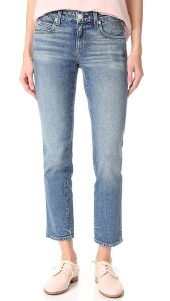AMO Kate Crop Straight Leg Jeans