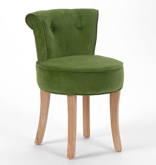 Set 2 butacas verdes Vintage Claire
