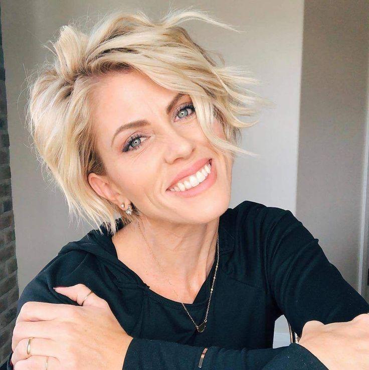 Über 40 neue Pixie-Haarschnitt-Ideen in den Jahren 2018 – 2019 – #pixiehaircut #pixiehair #ShortHaircuts #shorthairstyles – Short Hairstyles
