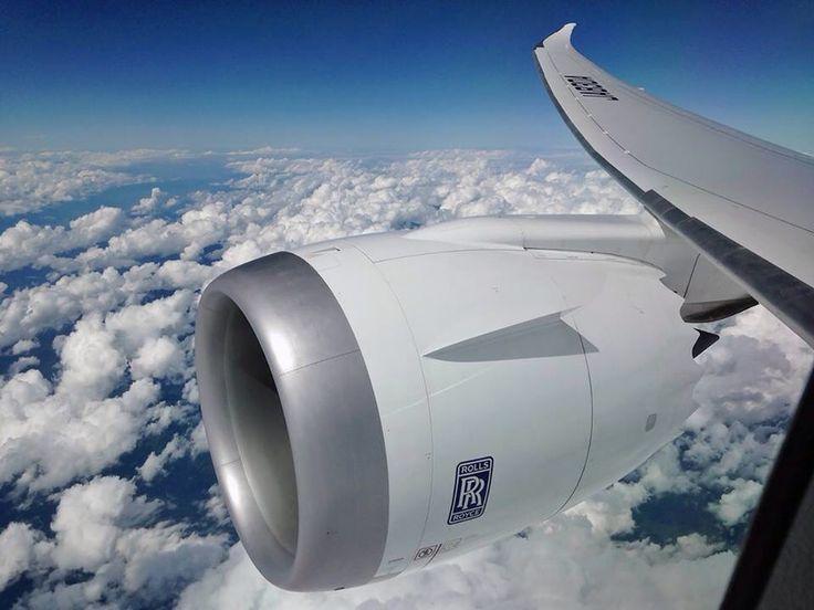 Rolls Royce Trent 1000 on the Boeing 787-900 Dreamliner