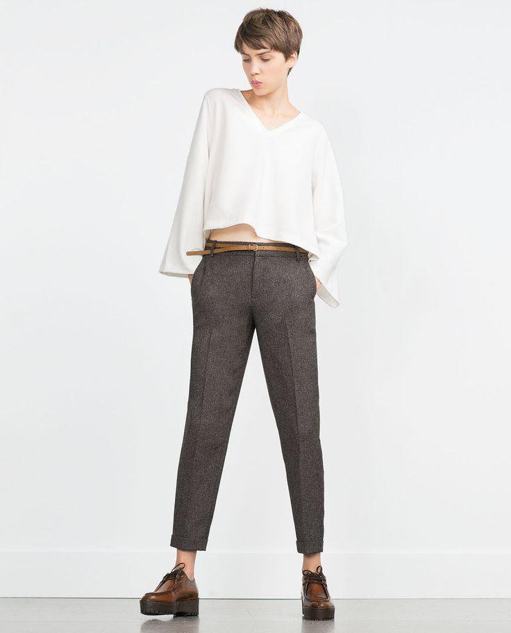 17 meilleures id es propos de pantalon pince femme sur. Black Bedroom Furniture Sets. Home Design Ideas