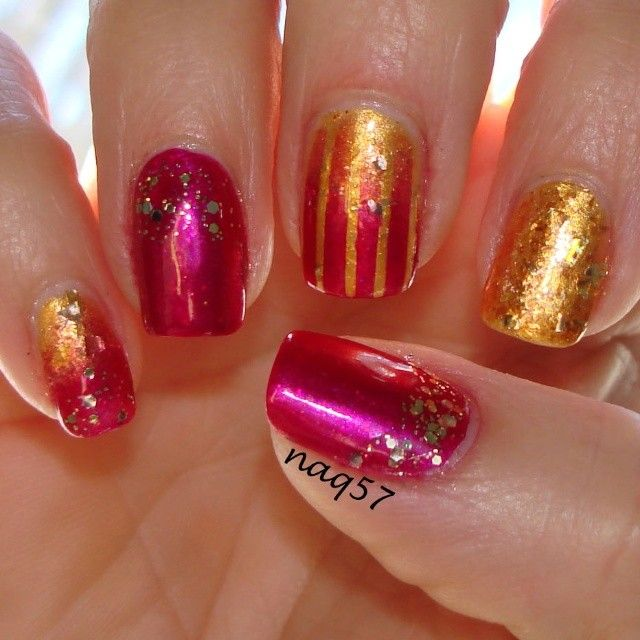 1000+ Ideas About Short Pink Nails On Pinterest