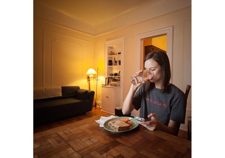 Chelsea Olson, Dinner in NY (2013) by Miho Aikawa