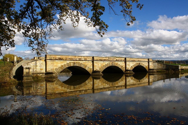 Ross Bridge is an historic bridge in the town of Ross, Central Tasmania, Australia.  It crosses the Macquarie River and was completed in July 1836.