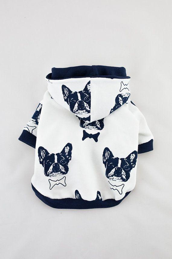 Hecho a mano suéter de perro perro con capucha por LolaDogFashion
