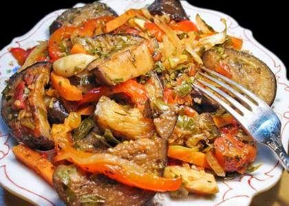 «Аджапсандал» или ароматное рагу по-грузински