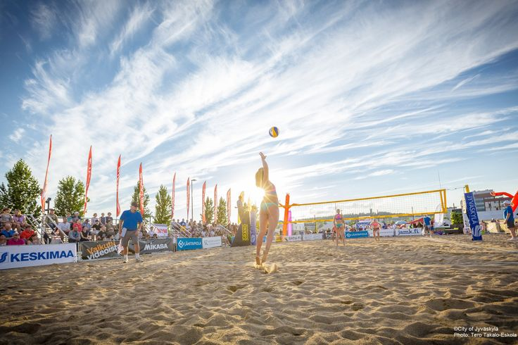 Beach volley. ©City of Jyväskylä Photo: Tero Takalo-Eskola