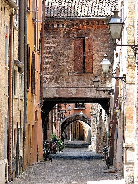 Via delle Volte - Ferrara, Italy