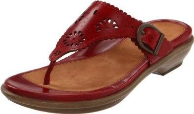 Dansko Women's Cara Veg-Tan Sandal,Crimson,36 EU / 5.5-6 B(M) US