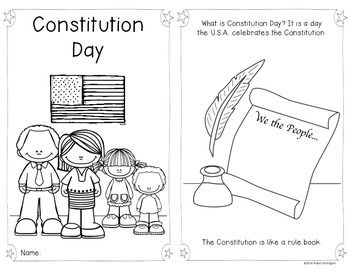 8 best images about constitution day on pinterest 3 for Constitution day coloring pages kindergarten