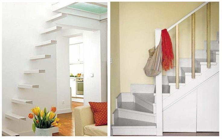 Escaleras para espacios reducidos y escaleras con espacio for Escaleras modernas para espacios pequenos