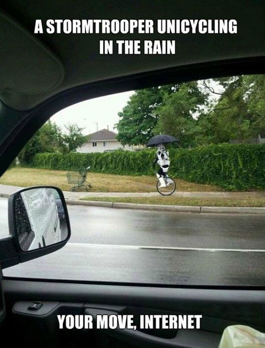 it is a scout trooper after all