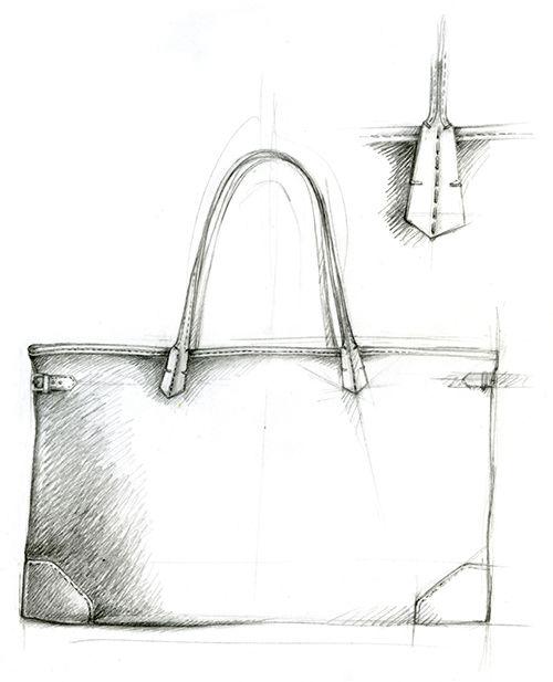 Sketch bag / croquis sac