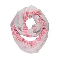 Aztec Embroidered Scarf   Women   George at ASDA