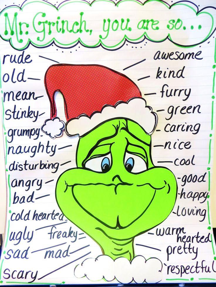 First Grade Wow: Grinch Day