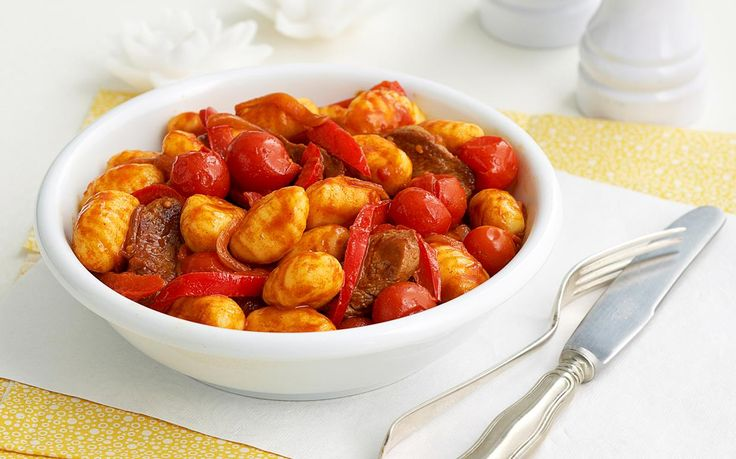 Packed full of tender lamb pieces, this hearty tomato based sauce is delicious served tossed with gnocchi to create a wonderful take on the traditional goulash.