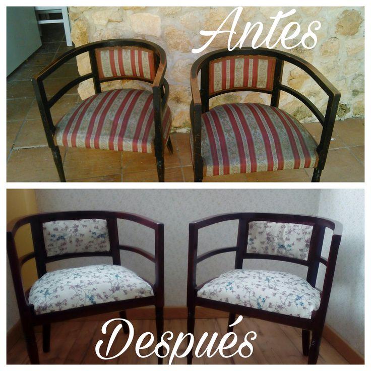 M s de 1000 ideas sobre sillas restauradas en pinterest - Restauracion de muebles barcelona ...