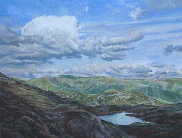 Coddle Tarn, Lake District - pastels