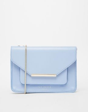 Ted Baker Patent Crosshatch Crossbody