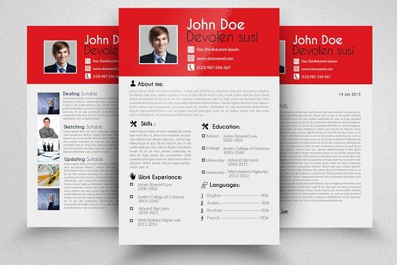 1000  ideas about simple resume template on pinterest