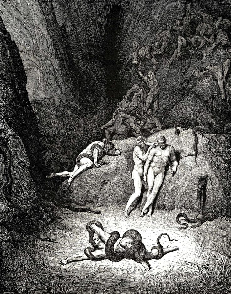 Artworks Inspired by Dante's Inferno