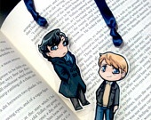 more cute sherlock crafts. (bookmarks!)