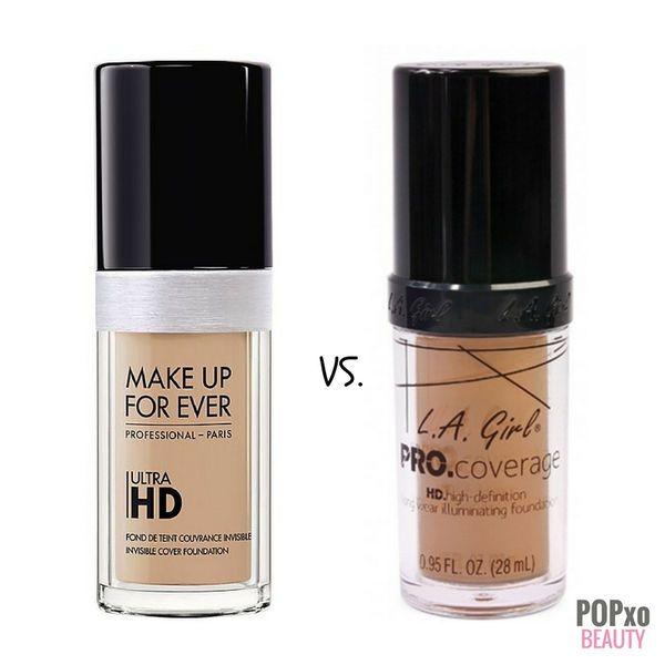 Foundation Dupes Make Up Forever Hd La Girl Pro Illuminating Internal 5 Cremas