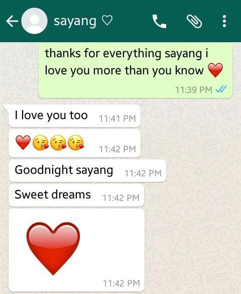 cute goodnight texts before i sleep ❤