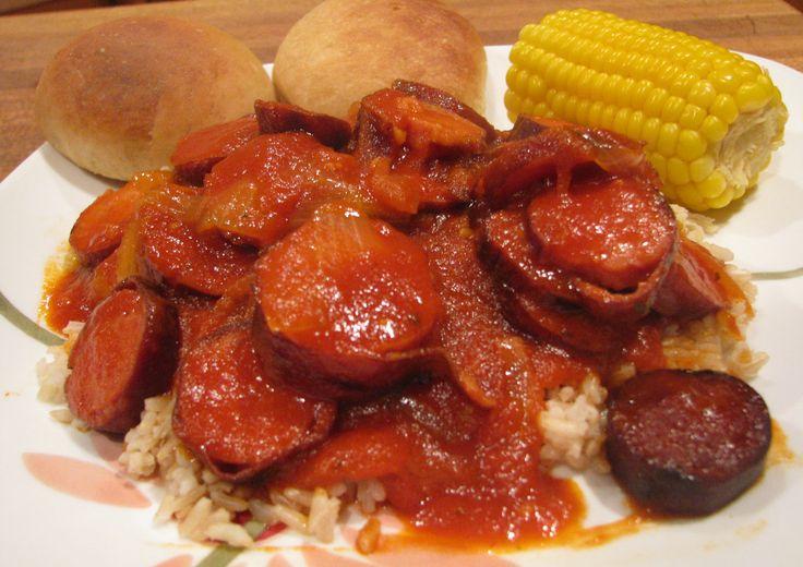 Louisiana Spicy Red Gravy & Sausage