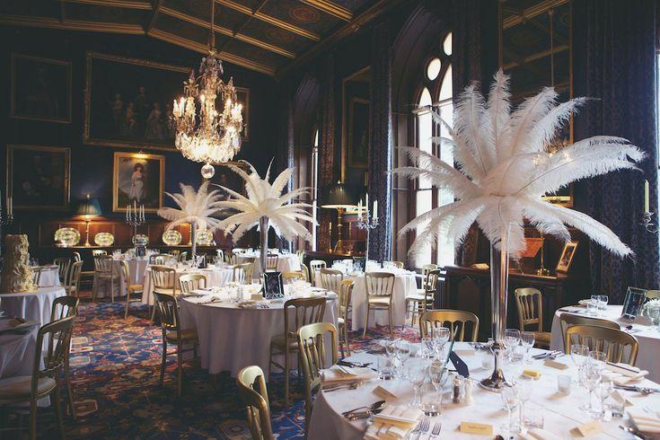 Elaborate 1940s vintage castle wedding christina richard for 1940s decoration