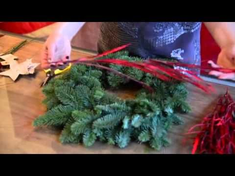 How To Decorate A Christmas Grave Blanket For $27 00 And Up Including The Grave Blanket 001 - YouTube