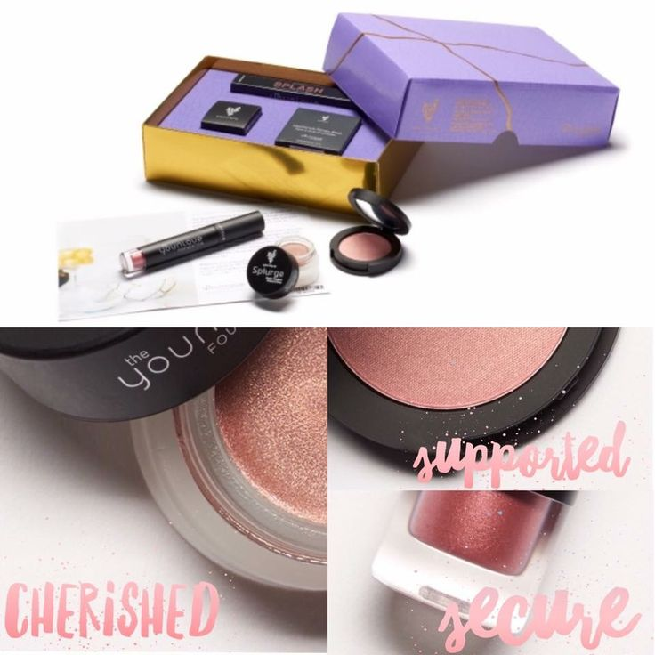 Support The Younique Foundation with this months Customer Kudos! During August only receive metallic colors of Moodstruck Splash Liquid Lipstick Splurge Cream Shadow and Moodstruck Powder Blush all inside a beautifully crafted kintsugi box. All proceeds go to The Younique Foundation. Www.youniqueproduct.com/Saraspeed