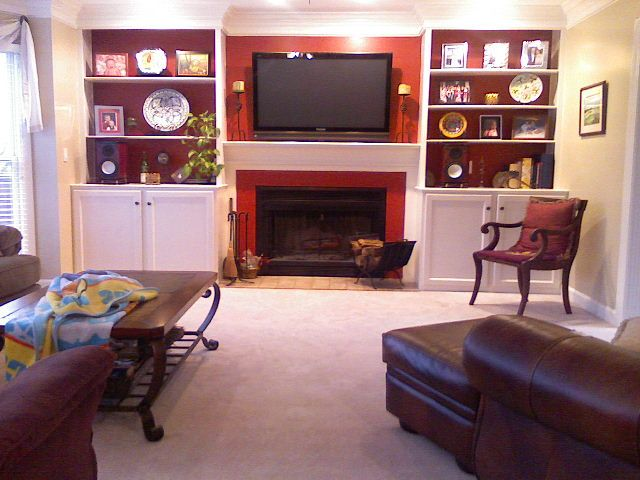 13 best Bookcase around fireplace images on Pinterest | Fireplace ...