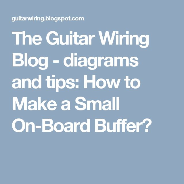 40 best Guitar Wiring images on Pinterest | Guitars, Electric ...