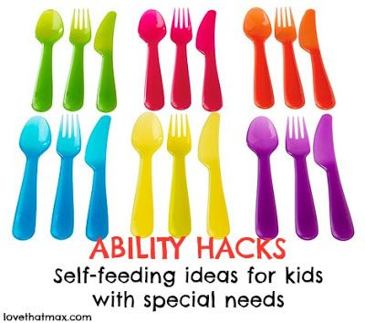 Ability Hacks: Self-feeding tips for kids with special needs