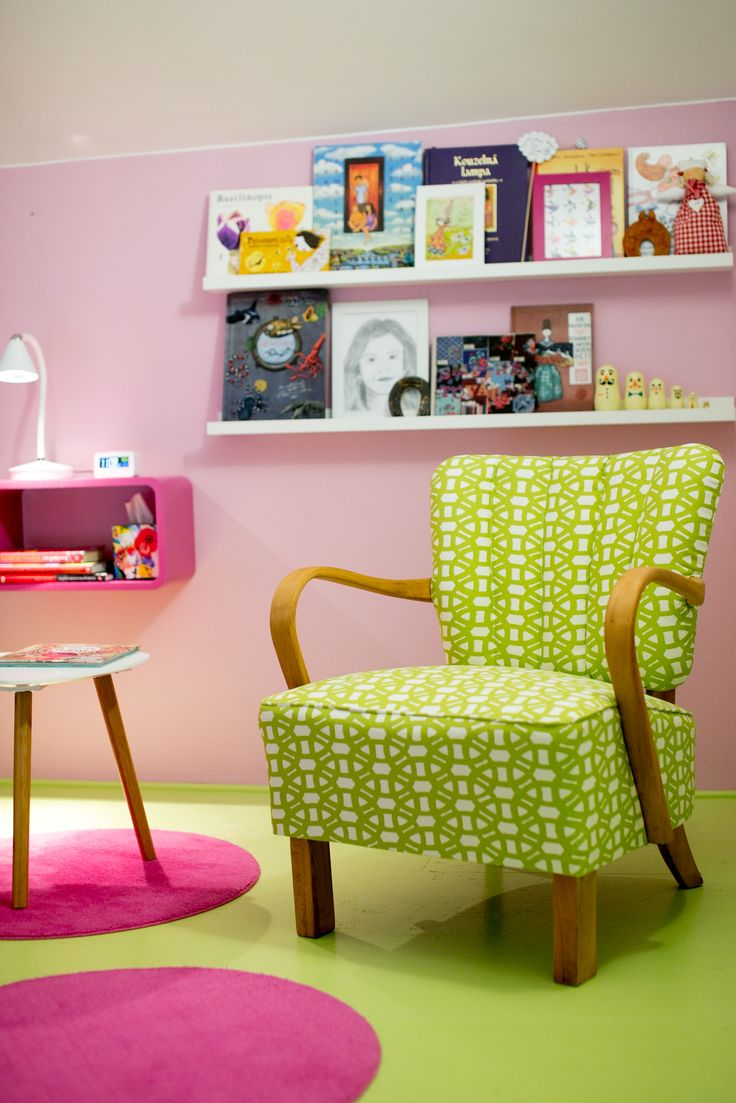 reading corner with renovated chair
