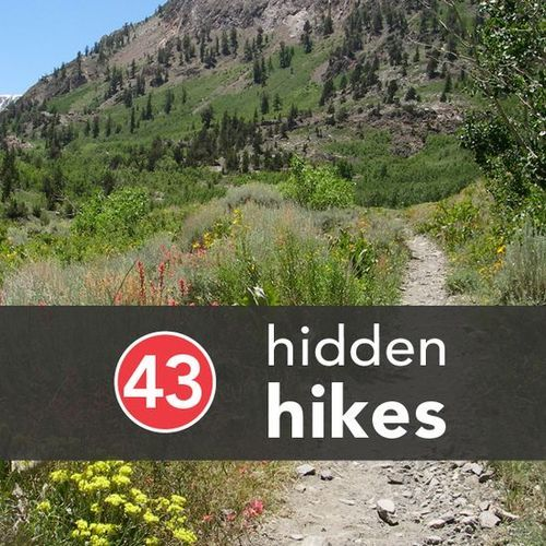 "43 ""hidden hikes"". Pretty awesome sounding ones! Would be cool to try and hit them all over the span of this life!"