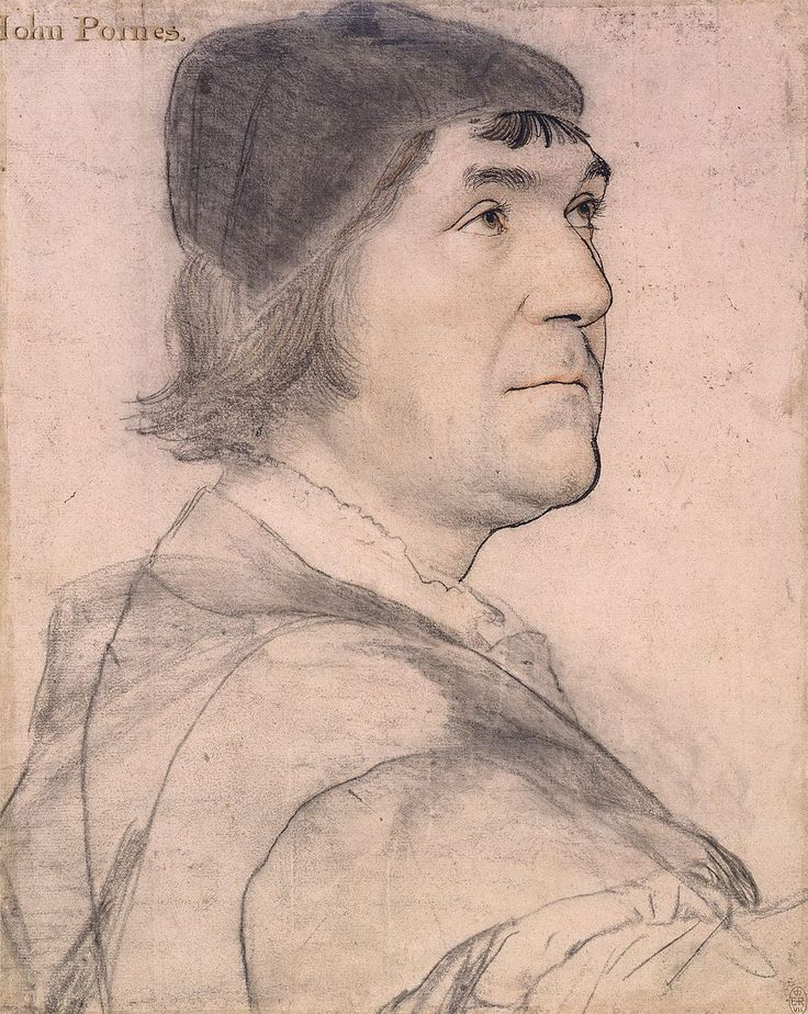 John Poyntz by Hans Holbein the Younger