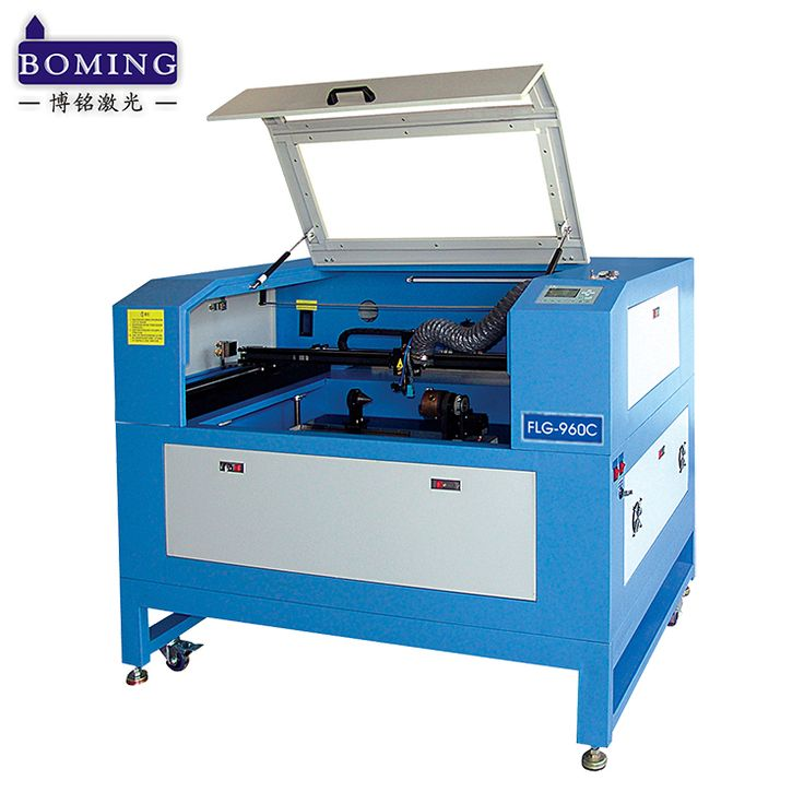 lift worktable rotary equipment photo frame engraving laser cutting machine prices for craft gift packing industry