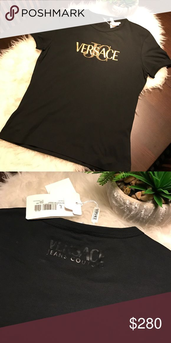Versace shirt. Authentic Versace shirt. Runs small, size indicates XL, it appears more like a M/L. Versace Shirts