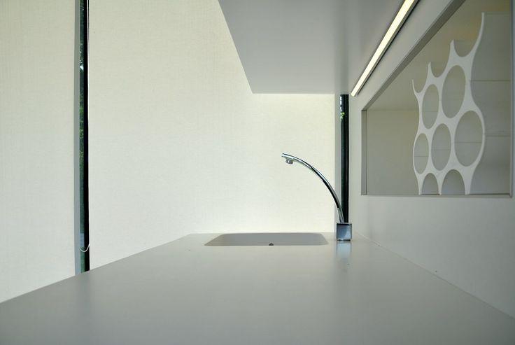 kitchen counter area