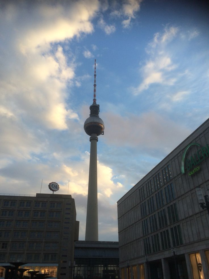 Fernsehturm Berlin....I thought it was little overrated on travel advise...but I was wrong !