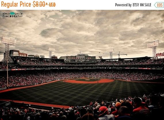 OPENING DAY SALE Boston Red Sox Fenway Park's by AshleyGreenPhoto