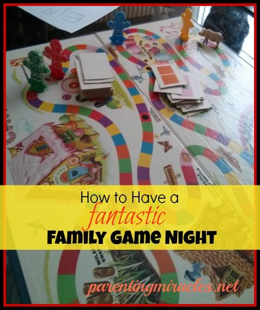How to Have a Fantastic Family Game Night