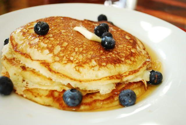 Lemon Ricotta Pancakes - so good