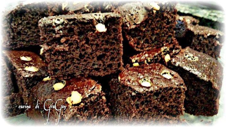 Brownies al cacao e olio oliva