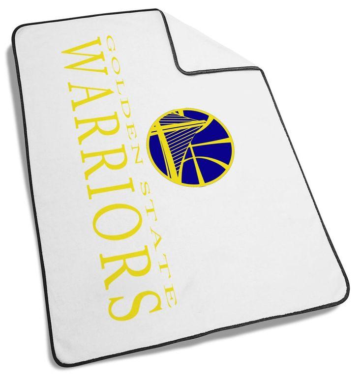 Golden Warriors Blanket #Golden #Warrior #Logo  #Blanket #goldenwarrior #Basketball #team #sport #sports