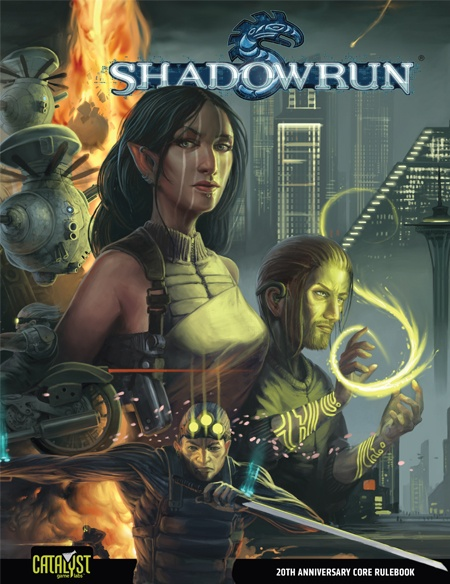 Shadowrun, 4th Edition Core Rulebook