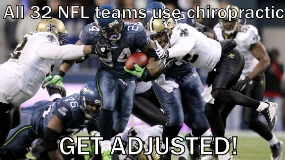 Chiropractic is used by all 32 NFL teams #getchecked #getadjusted #chiropractic AlignLife.com