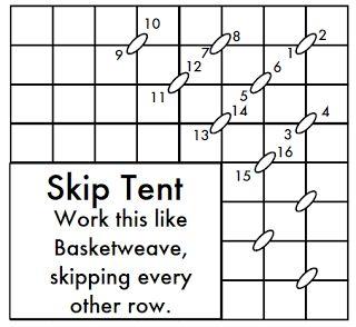 http://needlepointstudyhall.blogspot.com/2011/10/skip-tent-stitch-is-awesome-stitch.html